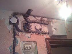 Замена электропроводки в Анапе